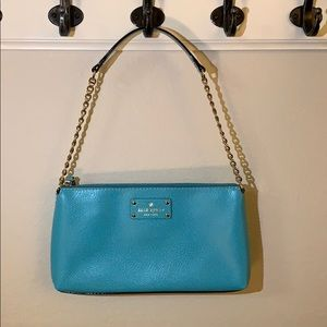 Kate Spade Small Turquoise Shoulder Bag